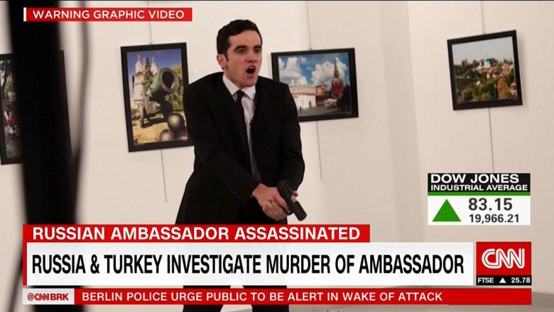 هذا ما عثرت عليه الشرطة التركية بمنزل منفذ اغتيال سفير روسيا