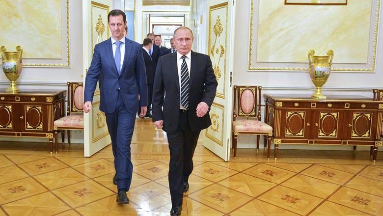 بوتين والأسد: انتصارات حلب فتحت الباب للعملية السياسية