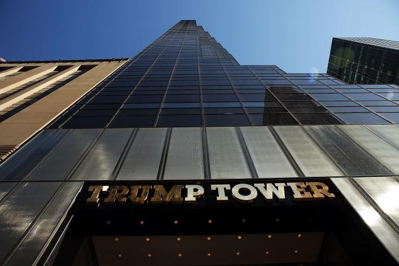 شاهد: حقيبة ألعاب أطفال تؤدي لإخلاء برج ترامب
