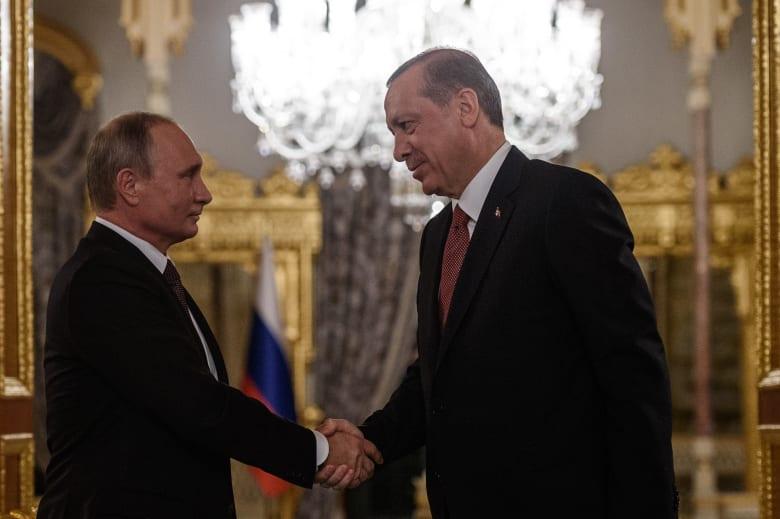 """بوتين يعزي أردوغان بضحايا هجوم إسطنبول: روسيا كانت وستظل حليفة لتركيا في حربها ضد """"قوى الشر"""""""