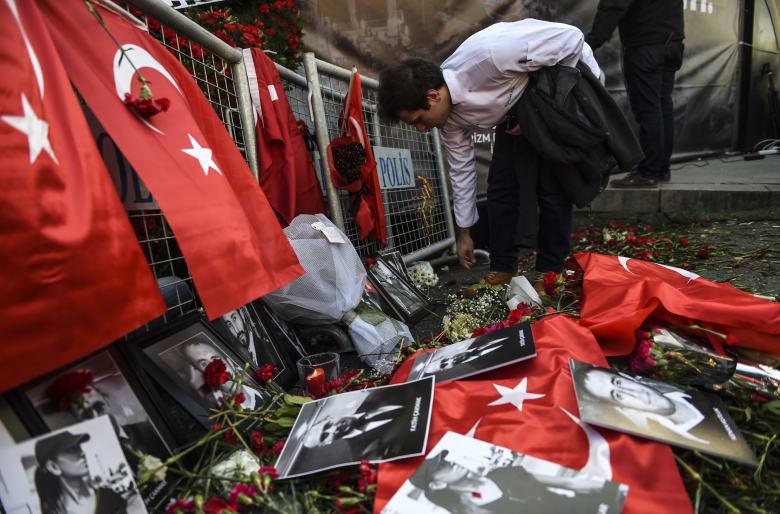 تركيا تكتشف هوية منفذ هجوم إسطنبول وتعتقل 5 لصلتهم بداعش