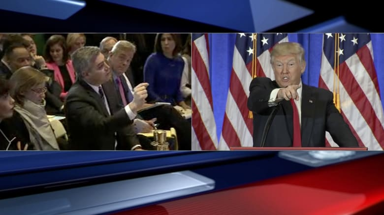 بأول مؤتمر صحفي له منذ 6 أشهر.. ترامب يُسكت مراسل CNN