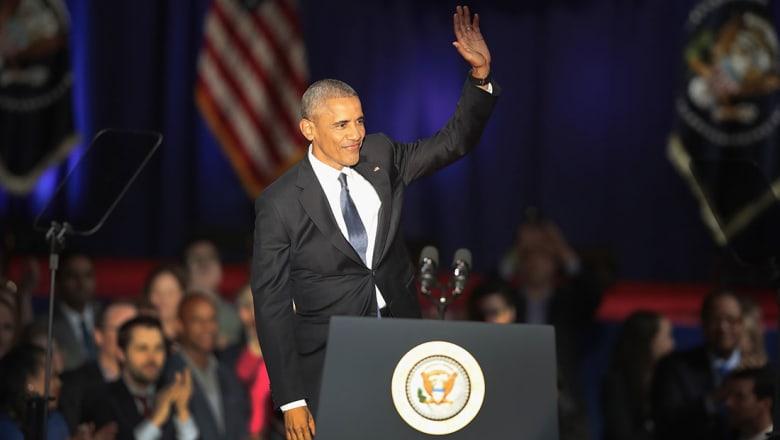 أوباما بخطاب الوداع: قتلنا بن لادن وسندمر داعش ولن تتحدانا روسيا والصين