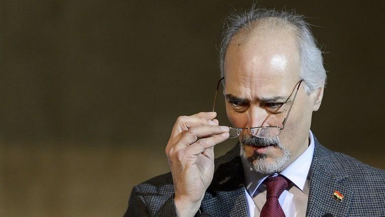 بشار الجعفري يبين ما تأمله الحكومة السورية من مؤتمر أستانا