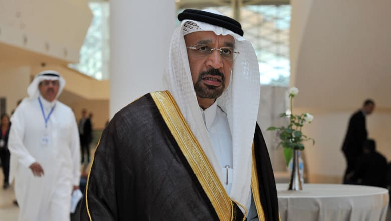 وزير نفط السعودية لـCNN عن إمكانية رفع أسعار الشحن لأمريكا: هناك أذكياء بإدارة ترامب