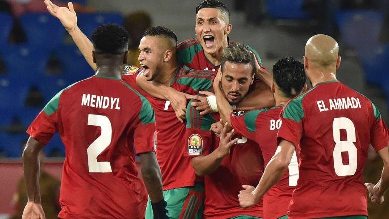 أسود المغرب تفترس الأفيال وتبلغ ربع النهائي لأول مرة منذ 2004