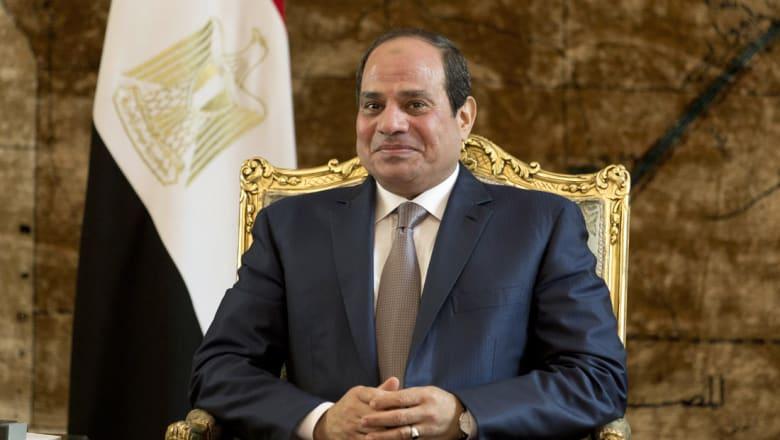 السيسي دعم مصر أمام غانا من أسوان برفقة وزير الشباب
