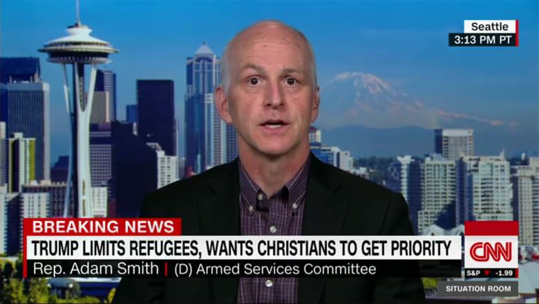 نائب أمريكي لـCNN: لا نقصد دينا بأكمله ولا نريد صراع حضارات