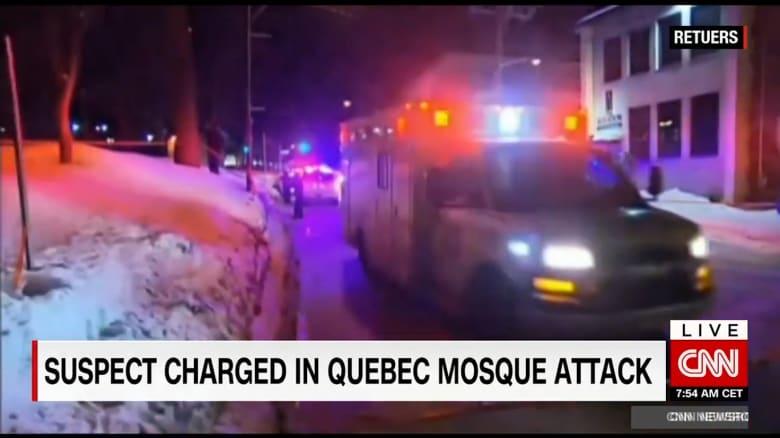 السلطات الكندية تكشف تفاصيل المشتبه به في الهجوم المسلح على مسجد كيبيك