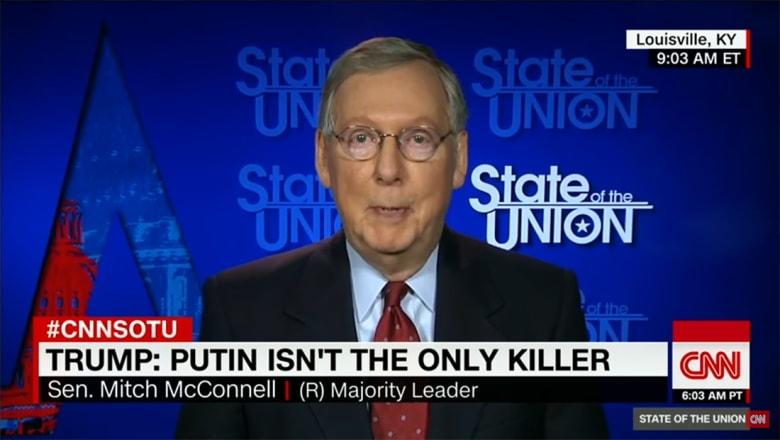 زعيم أغلبية الكونغرس لـCNN: بوتين بلطجي وعلينا الحذر من حظر المسلمين