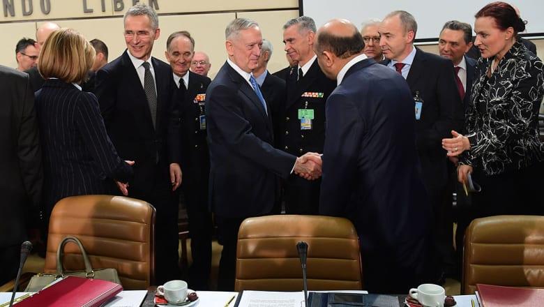 ماتيس لوزراء دفاع الناتو: ادفعوا وإلا ستعدل أمريكا إنفاقها