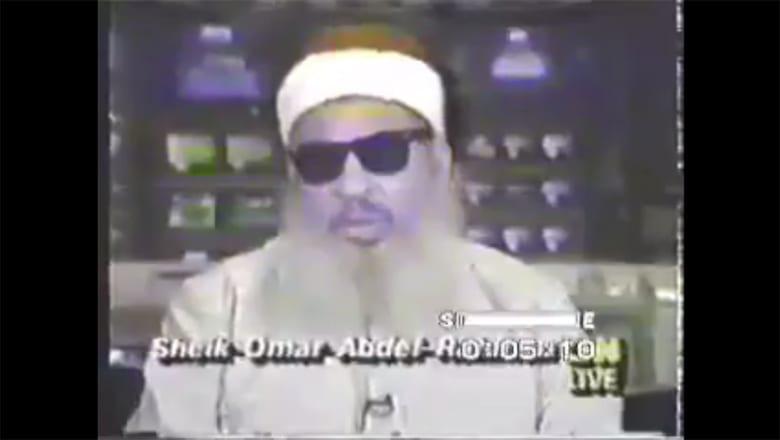 نشطاء يتداولون مقابلة أرشيفية لـCNN مع عمر عبدالرحمن وما تحدى به مبارك