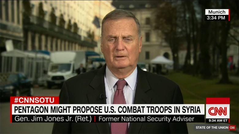 مستشار الأمن القومي السابق يبين لـCNN جدوى إرسال قوة أمريكية تقليدية إلى سوريا