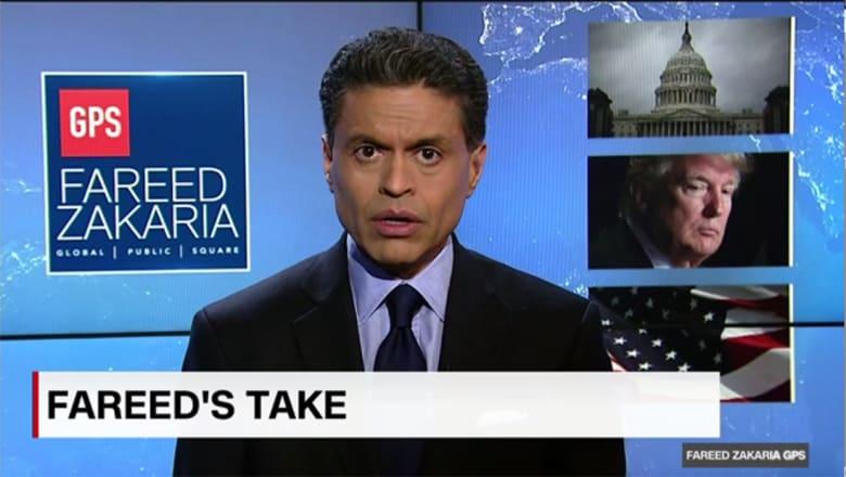 فريد زكريا يوضح لـCNN الشبه بين رئاسة ترامب والكرسي الهزاز