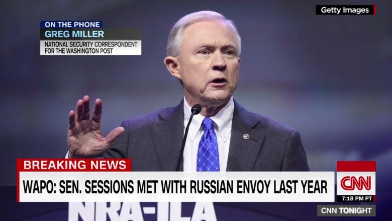 بعد إقالة فلين بقضية روسيا.. مطالب باستقالة وزير العدل الأمريكي لعدم كشفه عن لقائه بالسفير الروسي