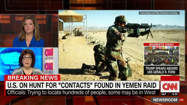 """مسؤول يبين لـCNN ما هو """"كنز"""" المعلومات المكتسب في العملية الأمريكية باليمن"""