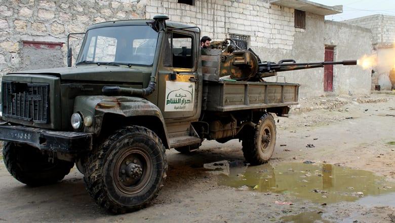 أحرار الشام تتبنى إسقاط المقاتلة السورية: نفذت غارة بريف إدلب الشمالي
