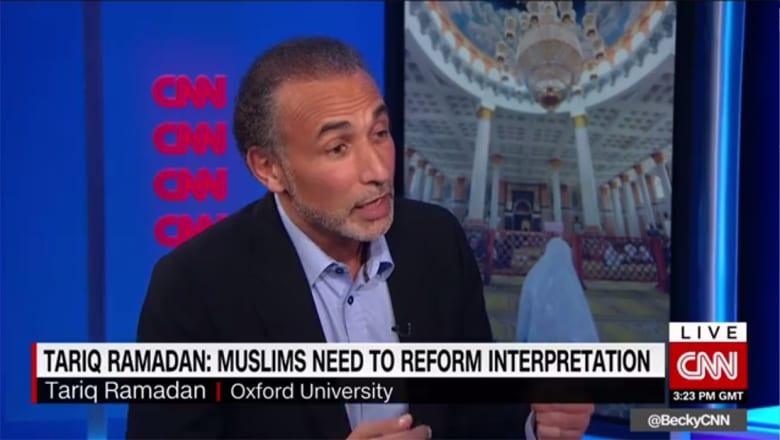 طارق رمضان لـCNN: جماعة الإخوان ليست عدوانية.. والإسلام أصبح دينا غربيا