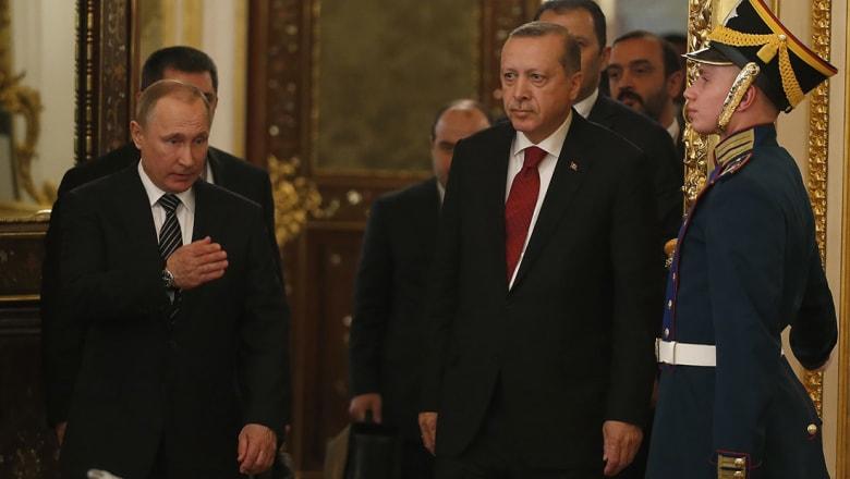بوتين: التنسيق بين روسيا وتركيا وإيران أدى لانخفاض العنف في سوريا.. وأردوغان: التنسيق سيستمر