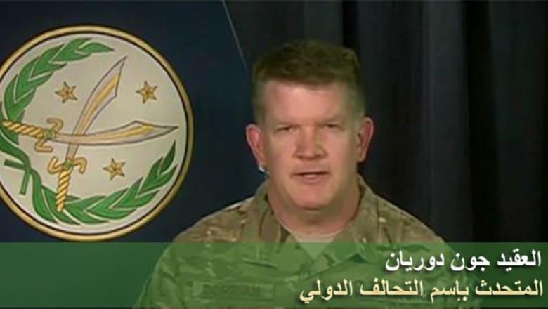 دوريان يبين ما يميز قوات سوريا الديمقراطية ومن يحاصر الرقة