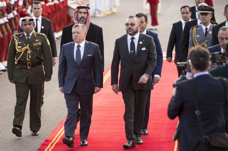 ملك الأردن يصل المغرب ويلتقي بمحمد السادس في زيارة رسمية