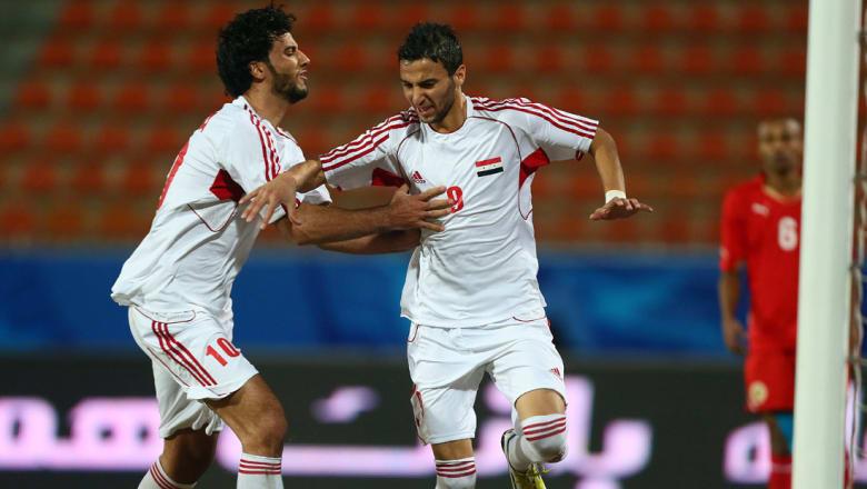 السومة يهنئ المنتخب السوري بالفوز على أوزبكستان