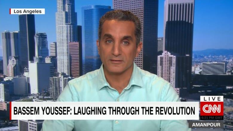 باسم يوسف لـCNN: نظام السيسي يعيش أفضل أيامه في عهد ترامب