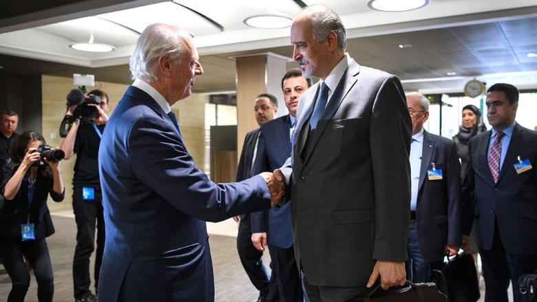 """نظام الأسد: المعارضة تريد استلام """"مفاتيح سوريا والسلطة"""" وترفض محاربة الإرهاب"""