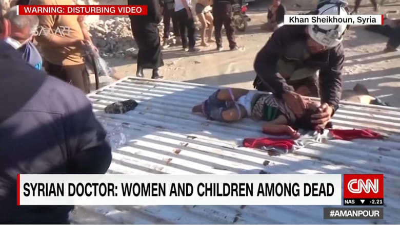 نشطاء: 70 قتيلا للآن بخان شيخون.. وهايلي: مجلس الأمن يجتمع الأربعاء