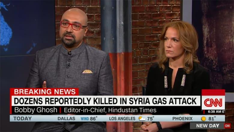 غوش لـCNN: الأسد يشعر بأنه محصّن ويمكنه القيام بما يريد