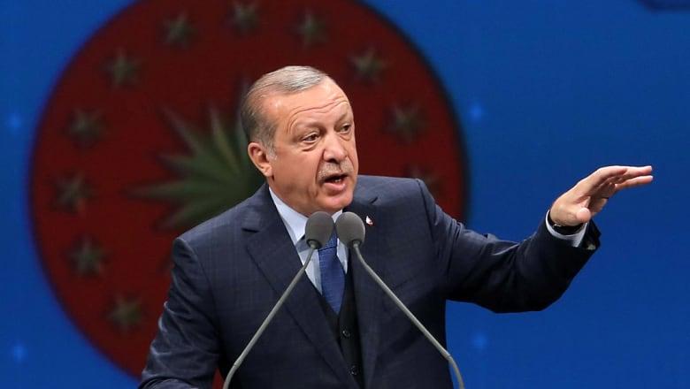 أردوغان يعلن استعداد تركيا لدعم تدخل ترامب المحتمل في سوريا