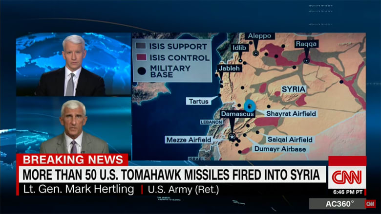 محلل الشؤون العسكرية بـCNN يبين ما يعنيه 59 صاروخ توماهوك ضد هدف واحد