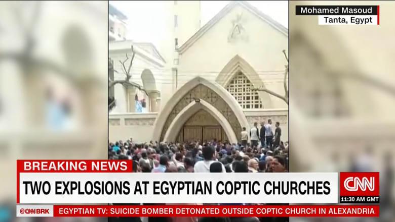 مصر: قتلى وجرحى بانفجار ثان بمحيط كنيسة مارمرقس بالإسكندرية