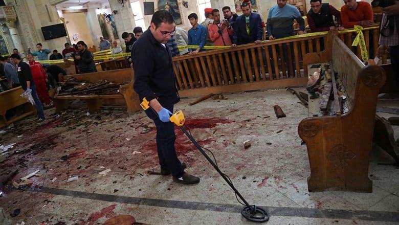 وزير الداخلية المصري يقرر إقالة مدير أمن الغربية بعد تفجير مارجرجس