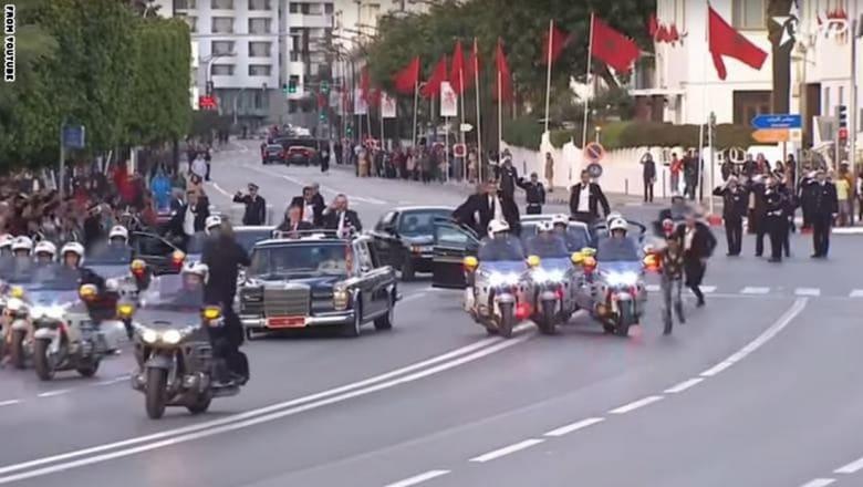 محكمة مغربية تدين شابا اعترض موكب محمد السادس وعبد الله الثاني