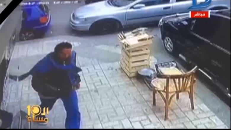 """الأبراشي ينشر فيديو لـ""""انتحاري"""" الكنيسة بالإسكندرية"""