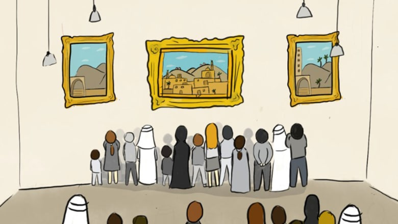 ما هي القيمة التي يدفعها المشتري العربي للوحة فنية؟