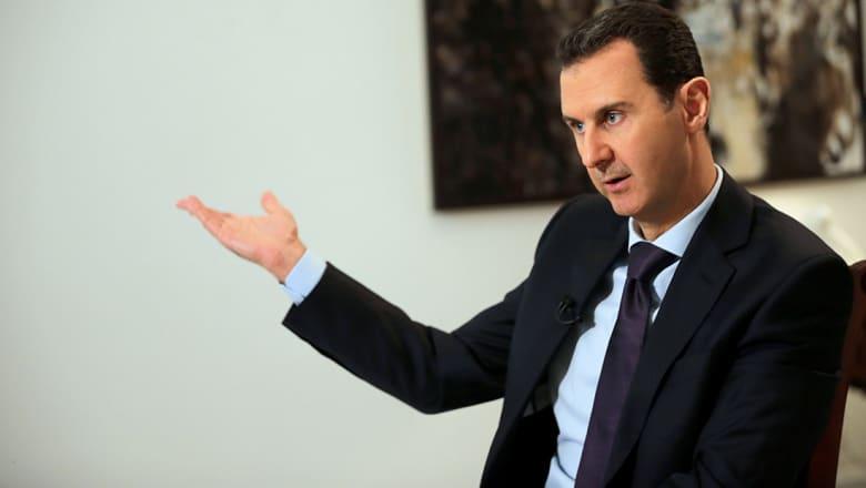 الأسد: نحن بلد صغير ولا نستطيع الرد على الصواريخ الأمريكية