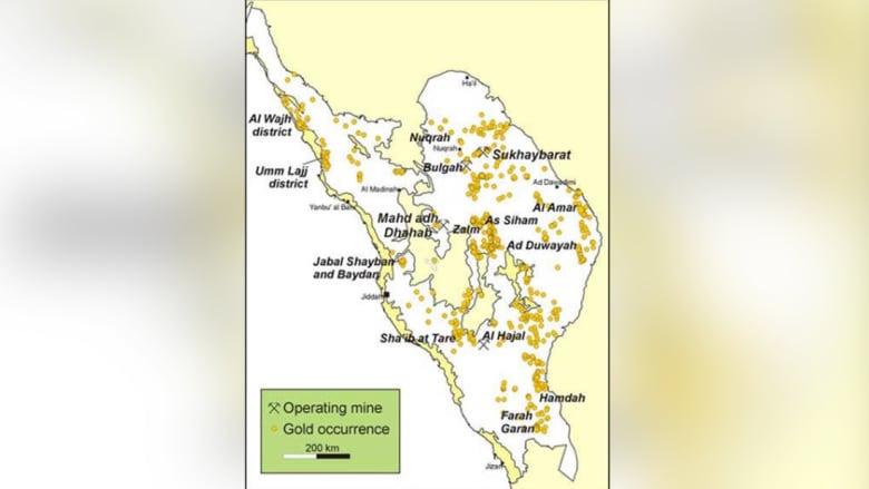 السعودية تدشن رسميا أكبر مناجم الذهب بإنتاج 180 ألف أوقية