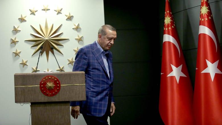 أردوغان: نشعر بالقلق الشديد من دوريات المراقبة الأمريكية مع YPG الكردية