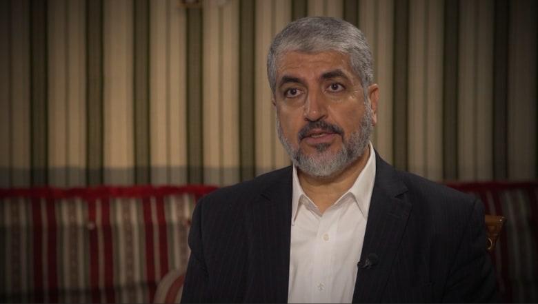 خالد مشعل لـCNN: ليلتقط الغرب فرصة وثيقتنا وترامب لديه جرأة التغيير