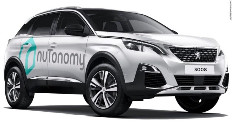 شركة فرنسية تجرّب سيارات ذاتية القيادة بسنغافورة