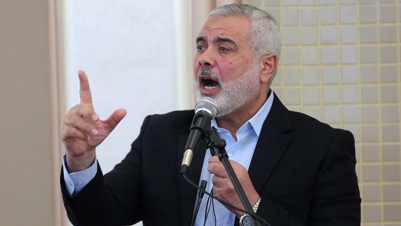 حماس تنتخب هنية رئيسا لمكتبها السياسي.. ومشعل: نصطف خلف القائد الجديد