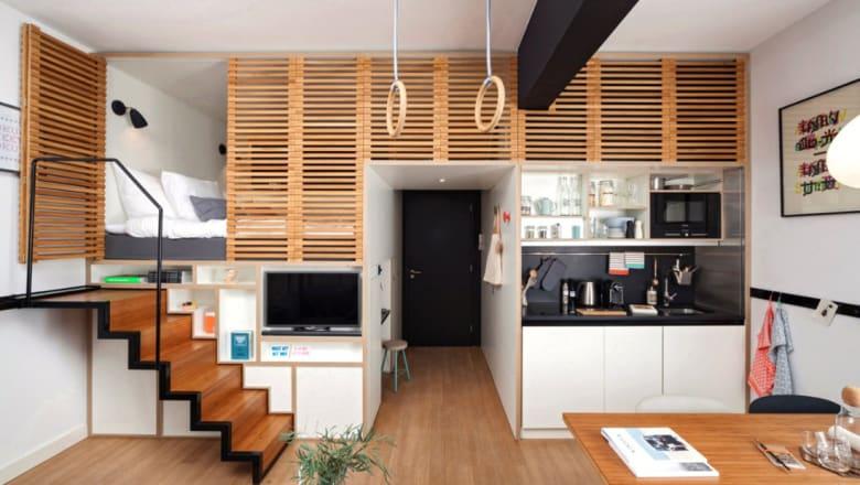 تعرّف إلى آخر الابتكارات في تصميم مساحات العيش الصغيرة