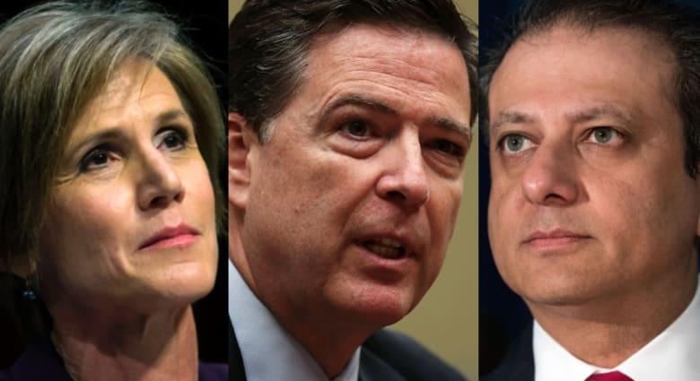 إقالة 3 مسؤولين أمريكيين كبار أجروا تحقيقات على صلة بترامب.. ما قصة كل واحد منهم؟
