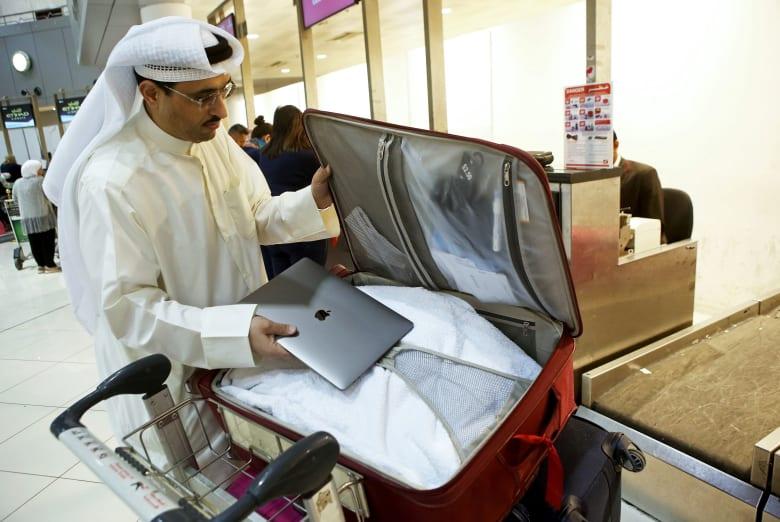 اجتماع أمني بأمريكا يدرس توسيع حظر نقل الإلكترونيات على الطائرات