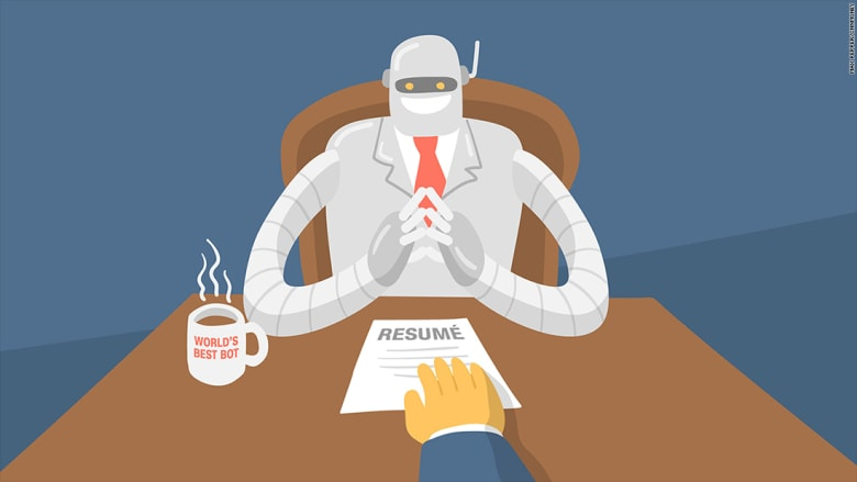 هل سيقابلك روبوت في مقابلة العمل القادمة؟