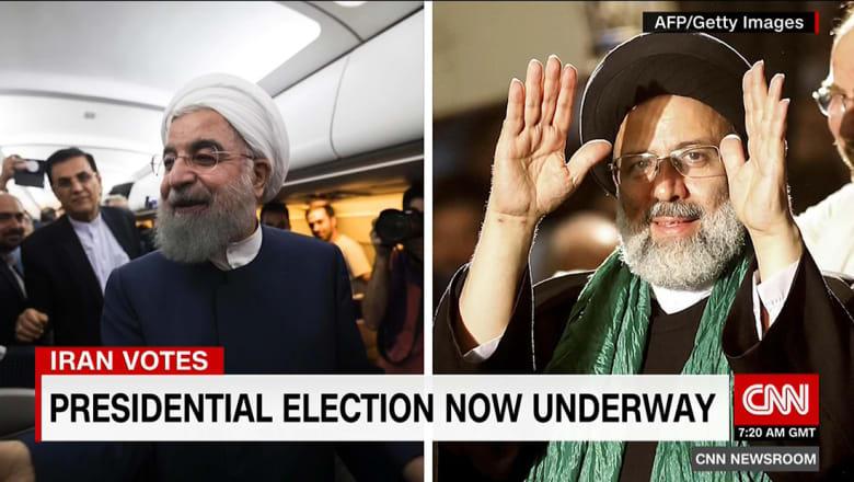 """بين مرشح كان عضوا بـ""""لجنة الموت"""" وآخر """"مصلح متردد"""".. خبير يبين لـCNN كيف ينظر الإيرانيون لانتخاباتهم"""