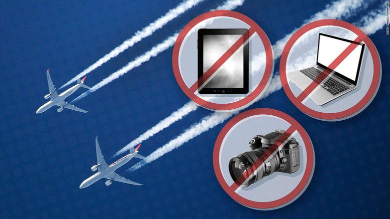 توسعة قرار حظر الإلكترونيات سيشمل مليون مسافر يومياً