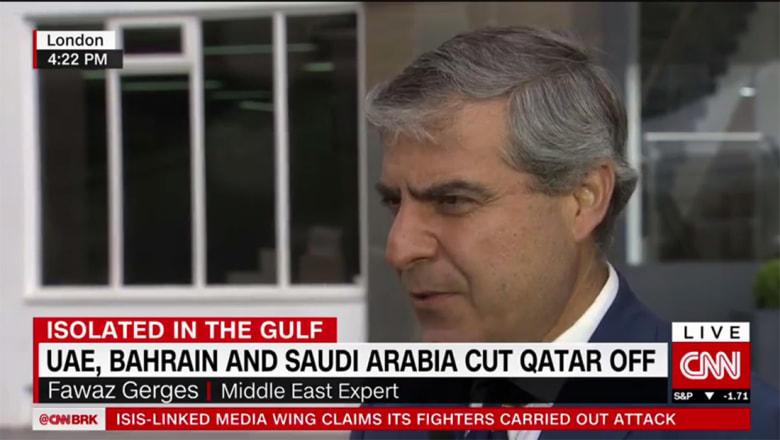 فواز جرجس لـCNN: عدم أخذ قطر بصورة جدية خلال زيارة ترامب للسعودية أشعل الأزمة